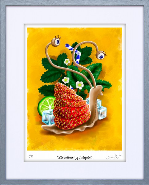 Sneaky Snails - Strawberry Daiquiri