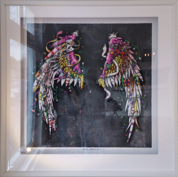 3D Pop Art - Angel Wings III