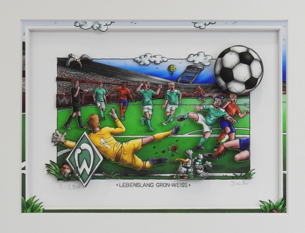 3D Pop Art - Werder Bremen